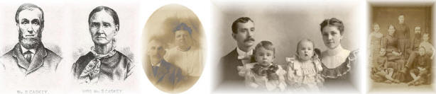 The Genealogy of Dennis Bowen Caskey and Michelle Lynn Smith